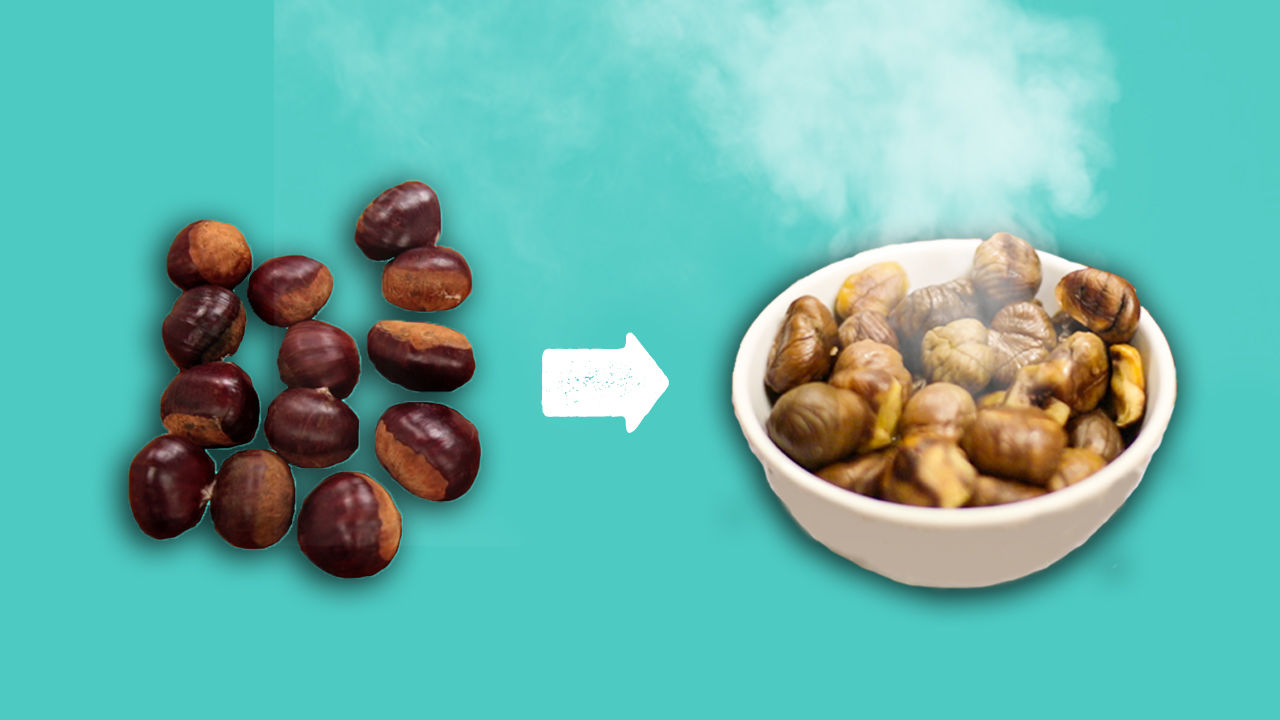 How to roast chesnuts for Christmas